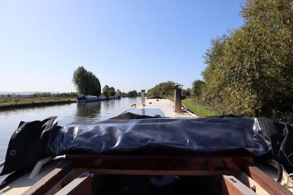 Onboard the Narrowboat